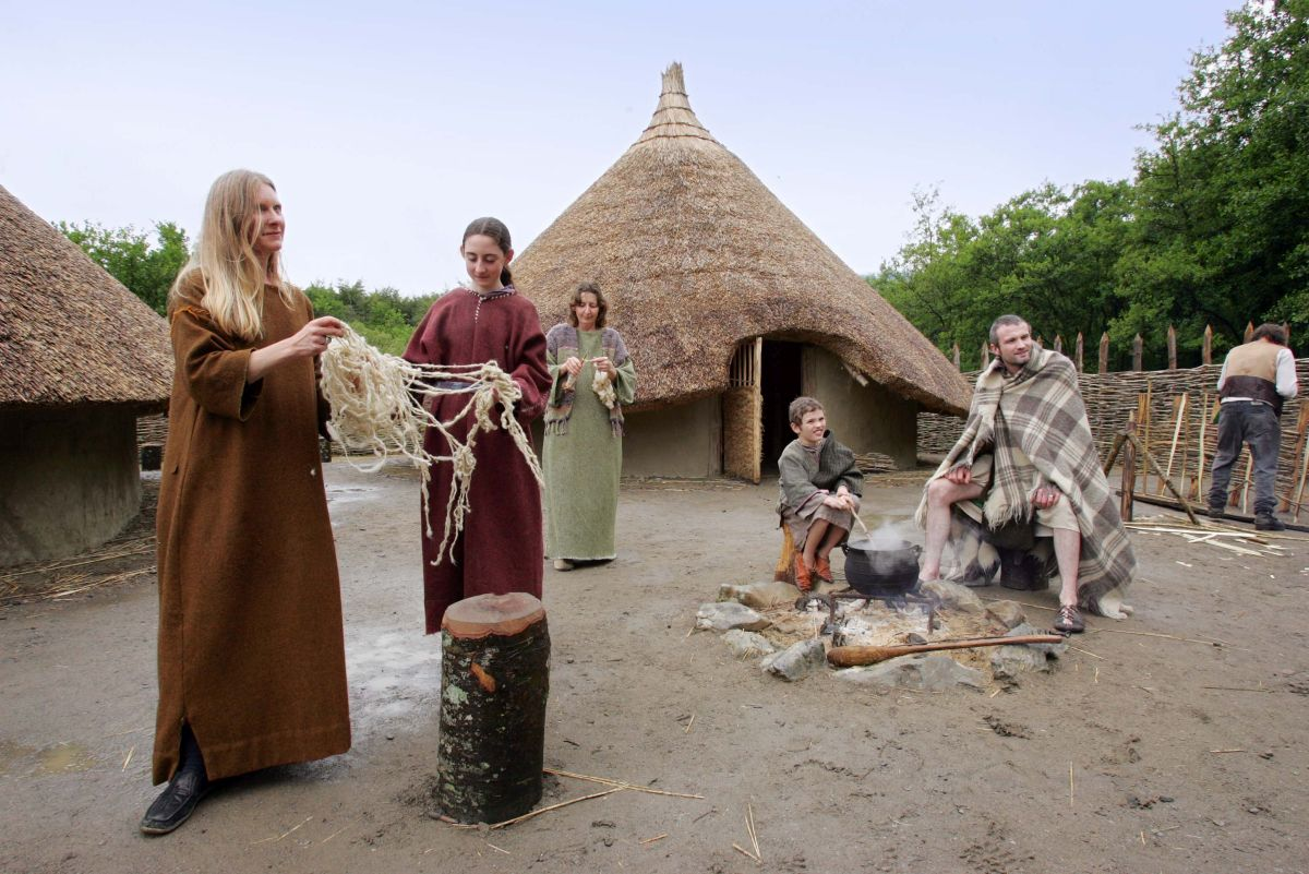 Craggaunowen historic places in Ireland horrible histories in Ireland