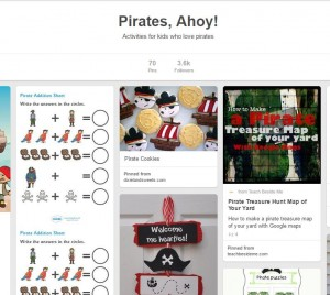 pirate themed party activities