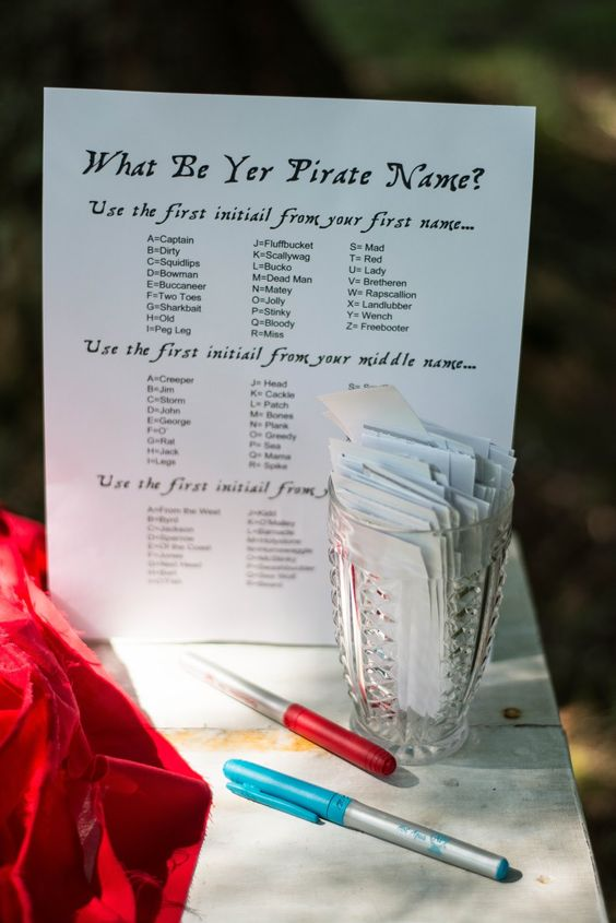 11 Swashbuckling Pirate Theme Party Ideas