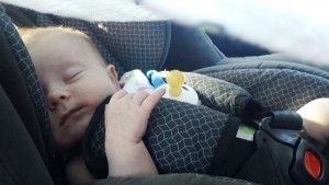 baby-asleep car