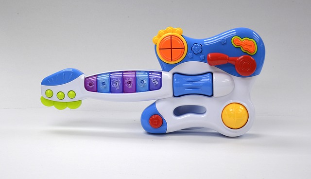 battery operated toy guitar
