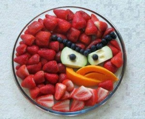 strawberry angry bird