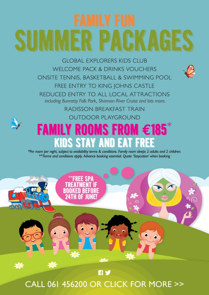 Radisson Blu Limerick Summer Offers
