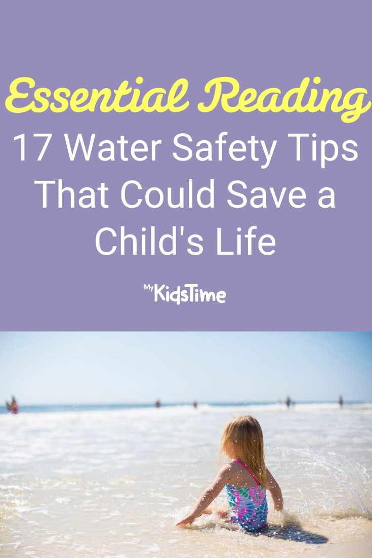 17 Water Safety Tips That Could Save a Child's Life - Mykidstime