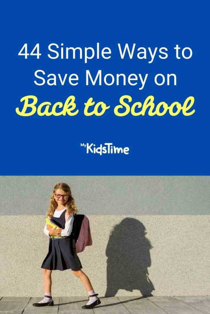 44 Simple Ways to Save Money on Back To School