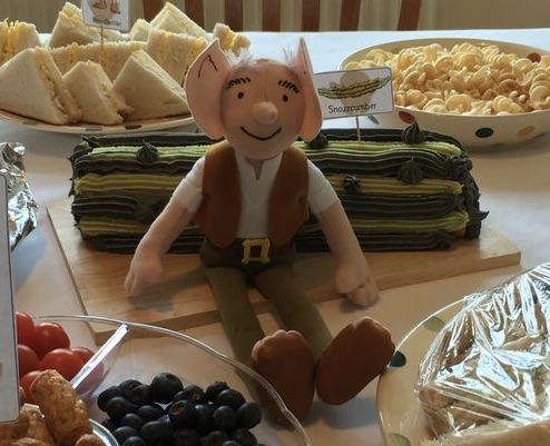 BFG Cake BFG Party Ideas for kids