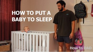 Dad Methods Putting Baby To Sleep