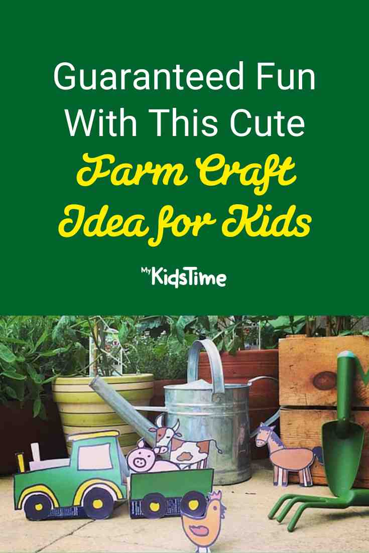 Guaranteed Fun with this Cute Farm Craft Idea for Kids - Mykidstime