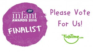Please Vote for Mykidstime - Parenting Blog