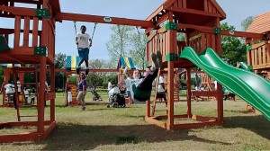 Swing Set Record Setting Video