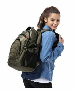 school bags seagulll army green backpack