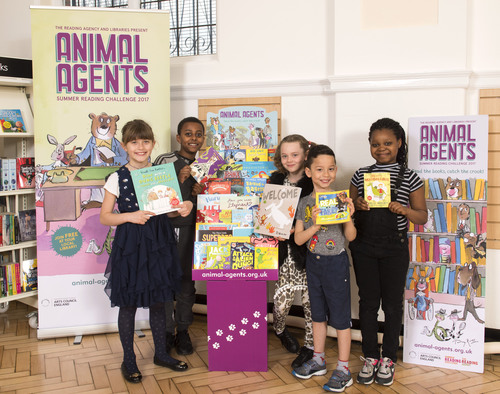 summer reading challenge animal agents