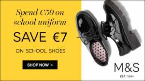 school shoes offer M&S