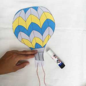 Hot Air Balloon Craft