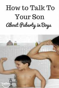 How to Talk To Your Son About Puberty in Boys