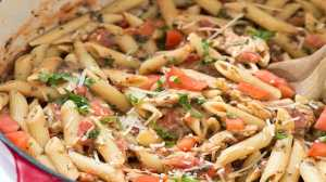 tuscan chicken and penne
