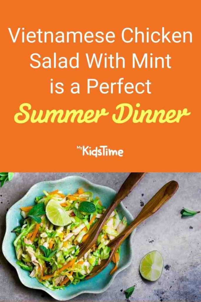 Vietnamese Chicken Salad With Mint is a Perfect Summer Dinner