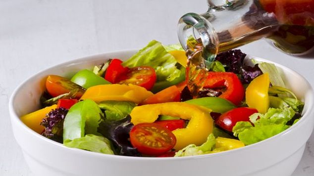 Make salad interesting salad dressing