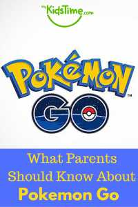 What Parents Should Know About Pokemon Go