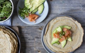 Healthy Lunch Ideas buckwheat crepes