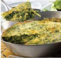 healthy lunch ideas green omelette with spinach salad