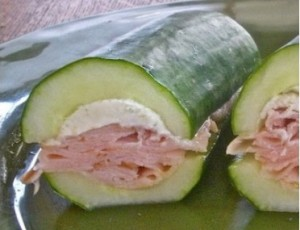 healthy salads cucumber subs from make the best of everything