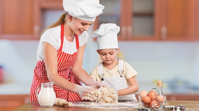 teaching your kids to cook safely