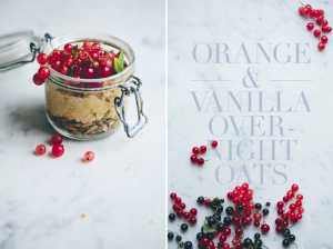 Orange & Vanilla Overnight Oats