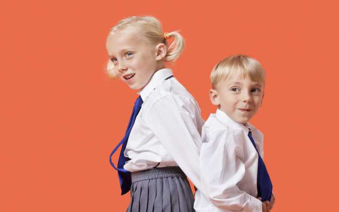 school uniforms from M&S caring for school uniforms