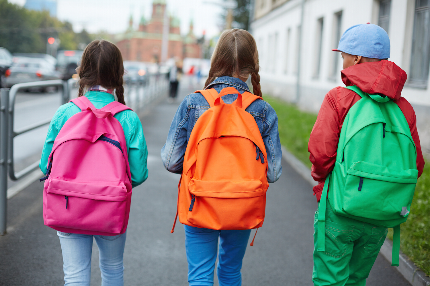 Back to School Be Safe Be Seen
