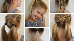 6 Easy Hairstyles for school