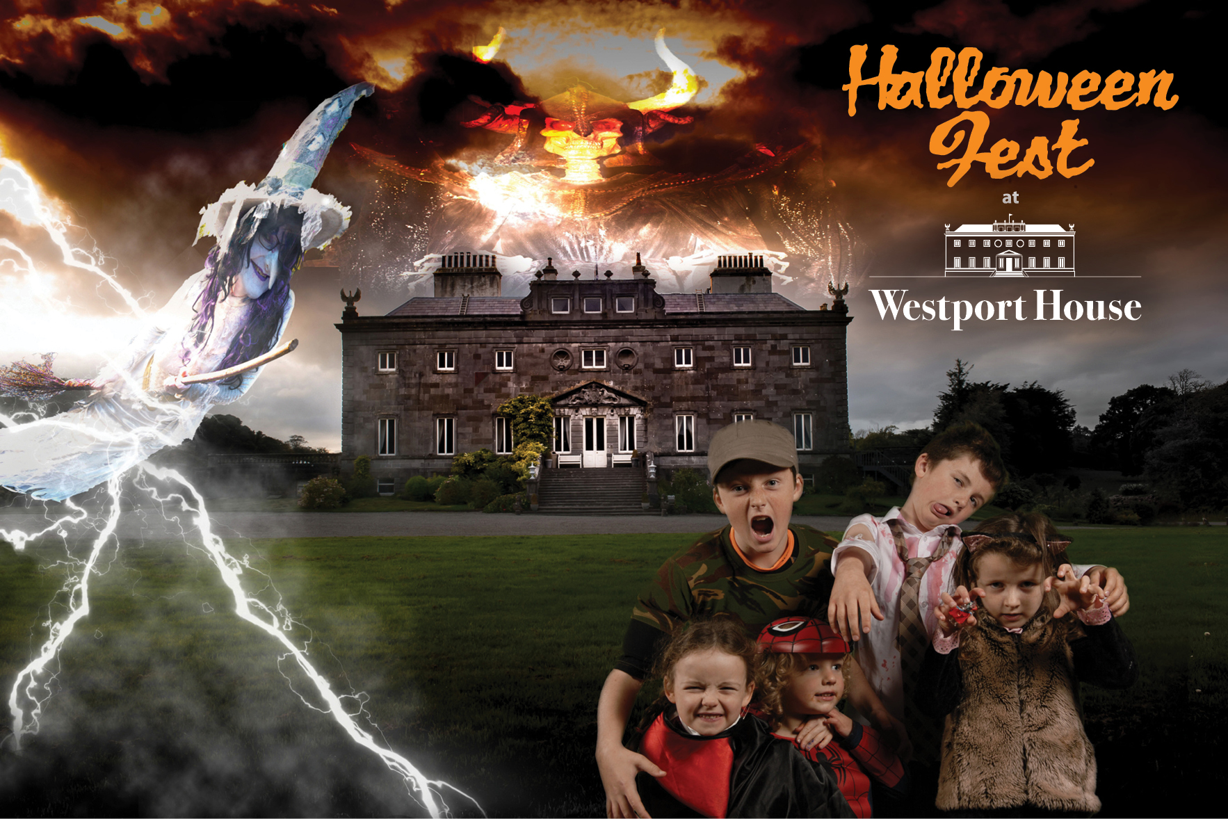 halloween fest westport house