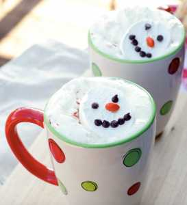 Kid Friendly Christmas Recipes from Following in my shoes Snowman Soup