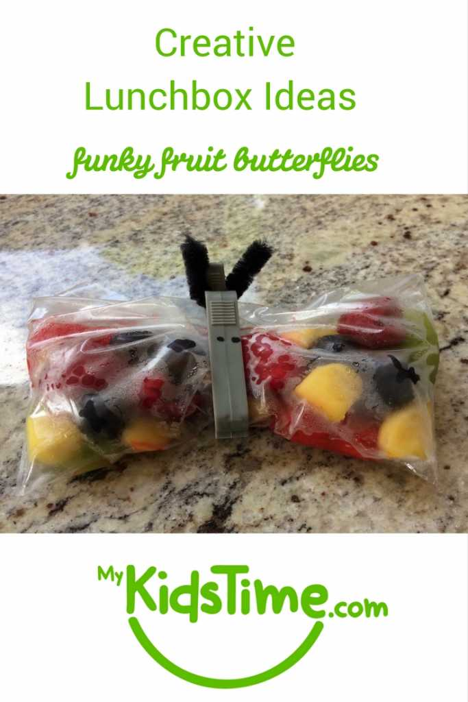 creative lunchbox ideas funky fruit butterflies