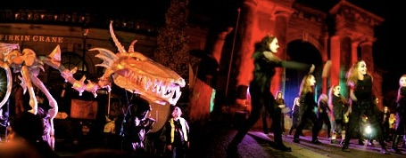 Free Halloween Things for Families to do Dragon of Shandon Festival
