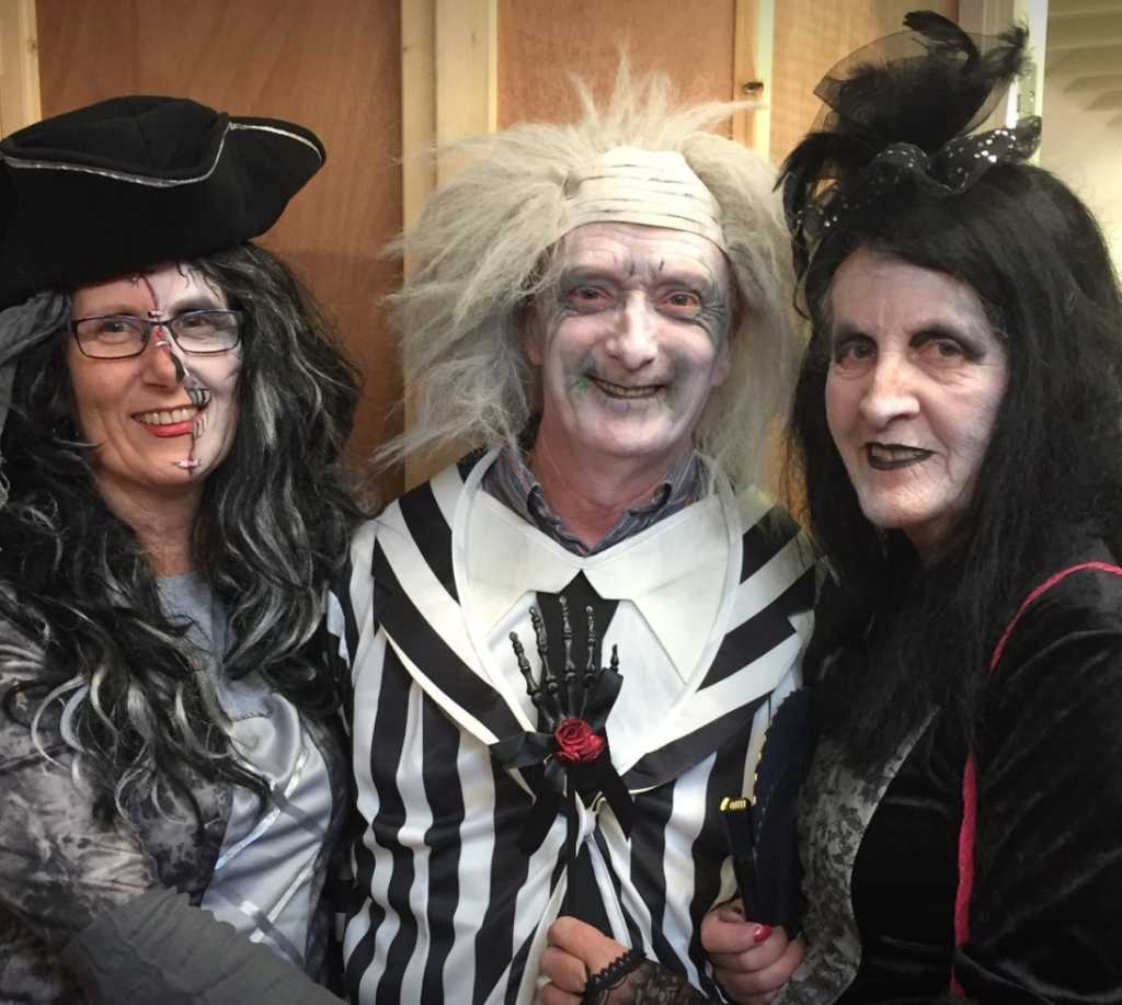 halloween at belvedere house