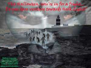 hook lighthouse halloween