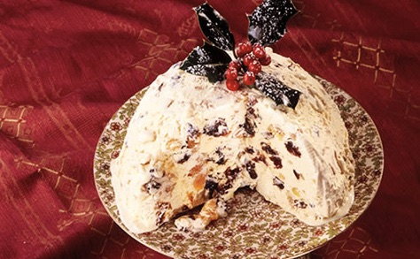 Kid Friendly Christmas Recipes Ice Cream Christmas Pudding