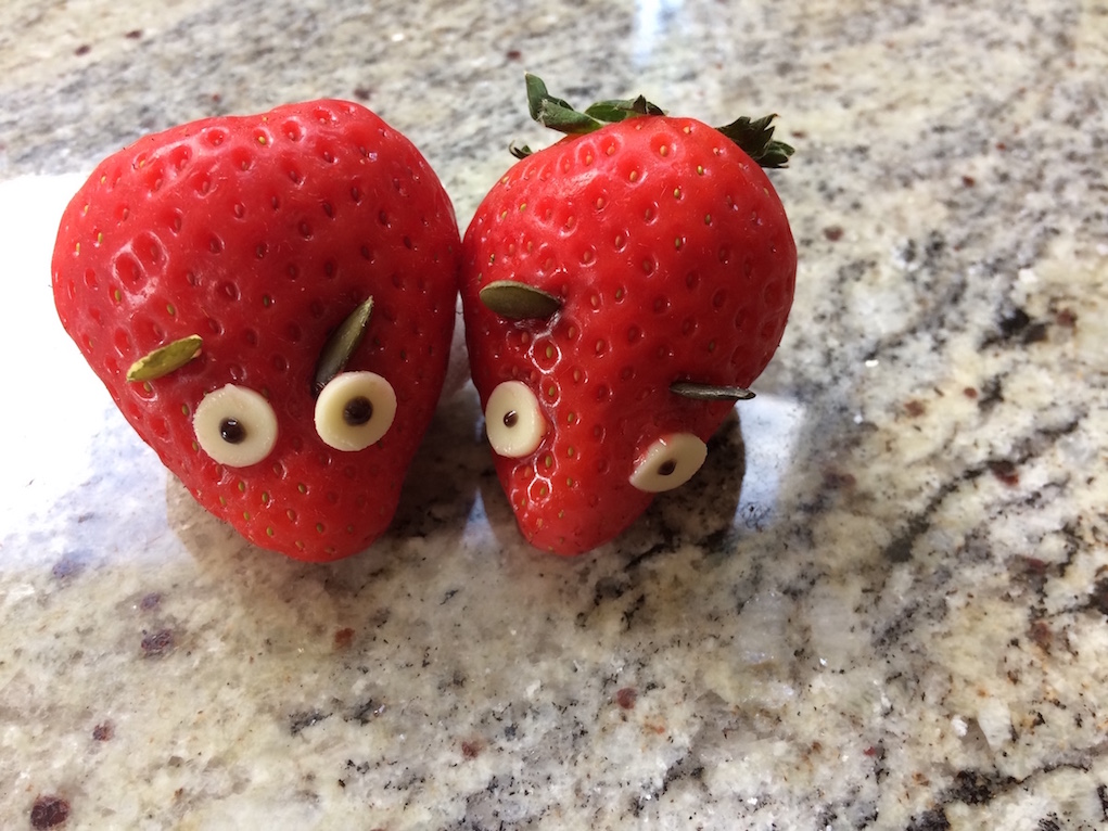lunchbox ideas strawberry mice