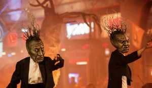 Free Halloween Things for Families to do Macnas Parade