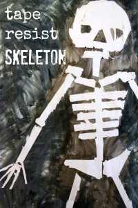 tape-resist-skeleton