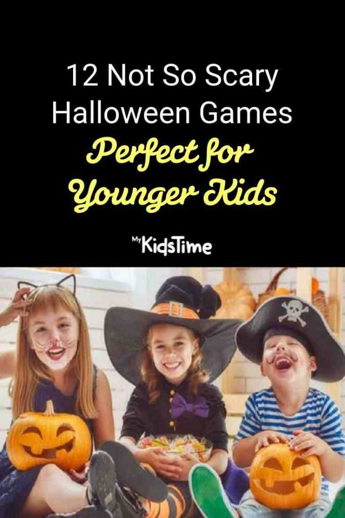 12 Not So Scary Halloween Games Perfect for Younger Kids