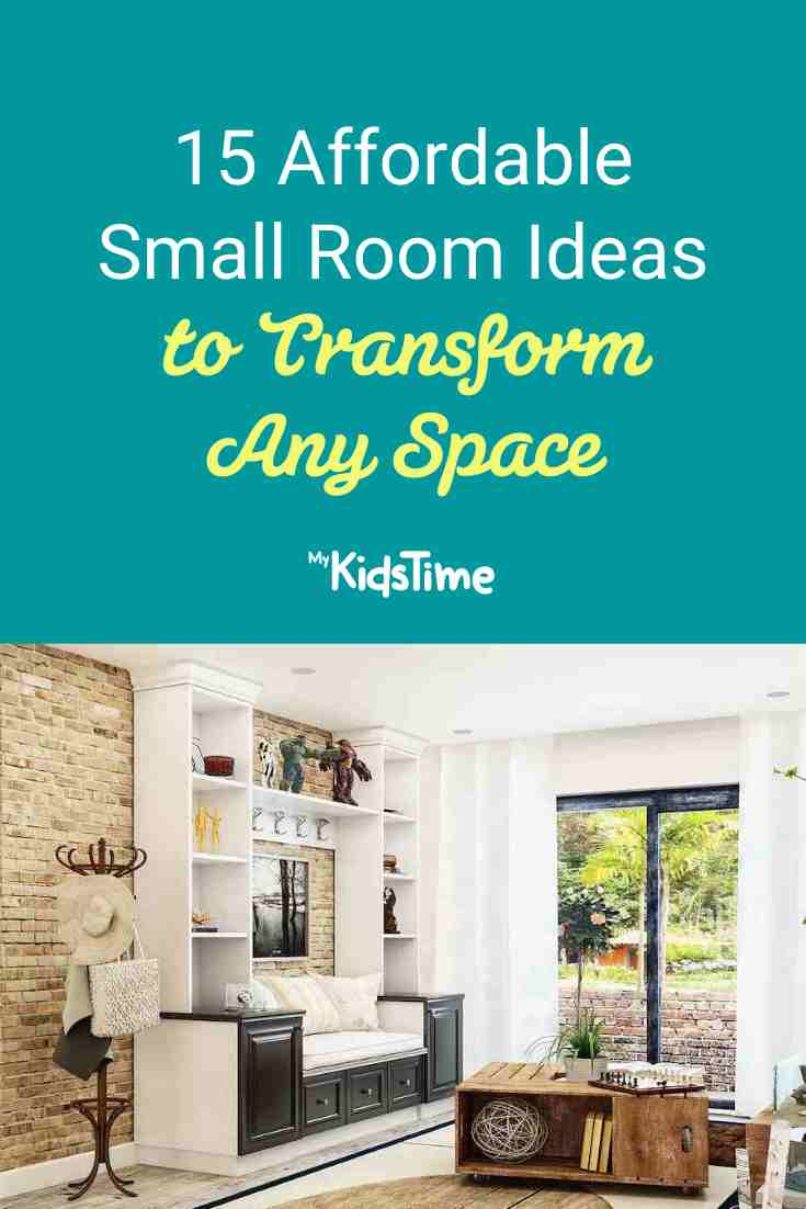 15 Affordable and Effective Small Room Ideas to Transform Any Space - Mykidstime