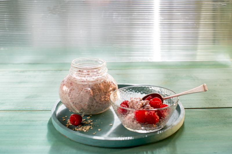 overnight oats healthy snack ideas