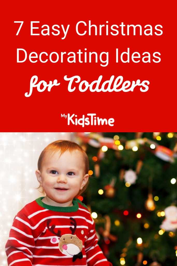 Easy Christmas Decorating Ideas for Toddlers