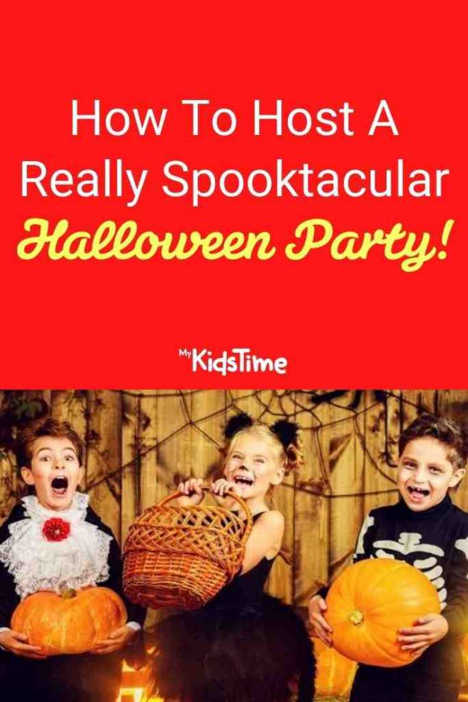 How To Host A Really Spooktacular Halloween Party!