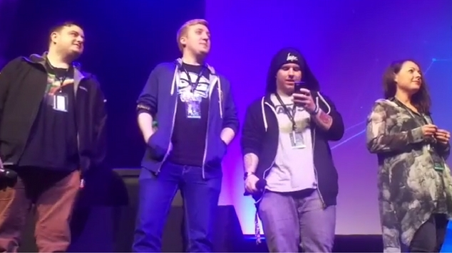 minecraft youtubers gaming convention