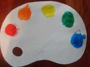 Ideas for kids halloween costumes artists palette