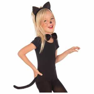 Ideas for kids halloween costumes cat costume