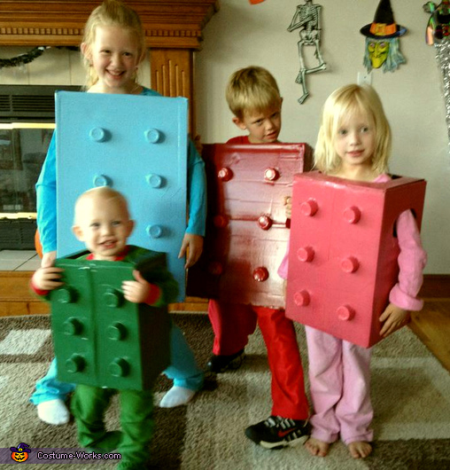 Five cheap and easy to make ideas for kids halloween costumes ideas for kids halloween costumes lego costume solutioingenieria Gallery